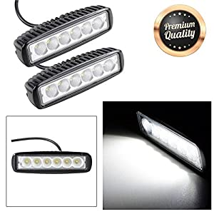 "GC Global Direct LED Flood Light Bar Off Road Driving Truck SUV (6"" Straight)"
