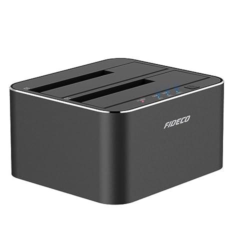 FIDECO Estación de Acoplamiento para Disco Duro, Aluminio USB 3.0 ...