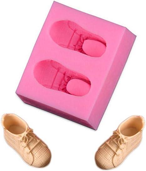 Molde de silicona para tartas, forma de zapato deportivo, creativo ...