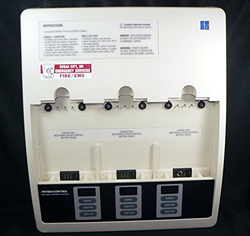 Physio-Control Battery Support System 2 BSS2 charger