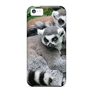 For Iphone 5c Protector Case Lemurs Phone Cover