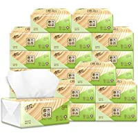 WYMAI Log Pumping Paper, 200 Pumping 24 Packets Of Toilet Paper Towels, Wholesale Napkins, FCL Family Practical toilet paper (Color : White)