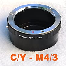 Fotasy AMCY C/Y Contax / Yashica Lens to Micro Four Thirds M43 MFT System Camera Mount Adapter