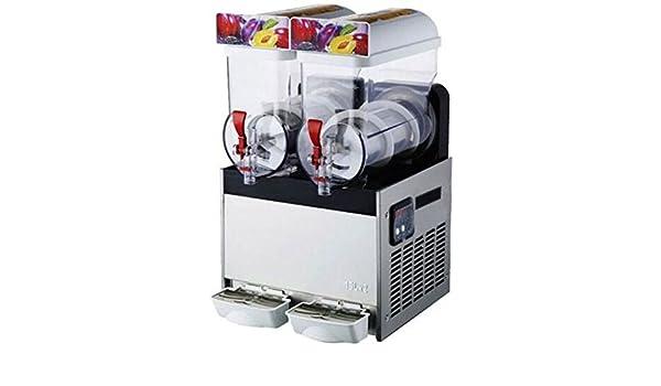welljun Comercial 2 Tank Frozen Bebida Slush Slushy Panificadora ...