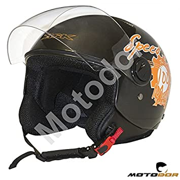 "Casco Moto Demi Jet ""VINTAGE"" ..."