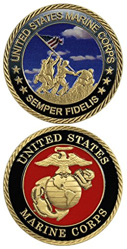 Corps Challenge Coin (United States Marine Corps Semper Fidelis Challenge Coin)