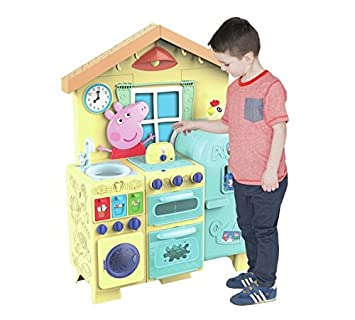 Peppa Pig House Kitchen Imaginative Role Play Kids Kitchen Playset