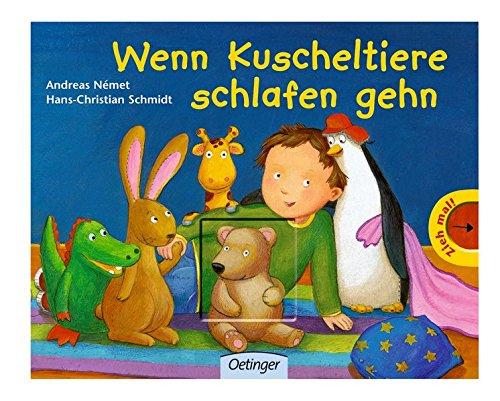 Kinderbett Design Pluschtiere Kleinen Einschlafen | Wenn Kuscheltiere Schlafen Gehn Amazon De Hans Ch Schmidt Andreas