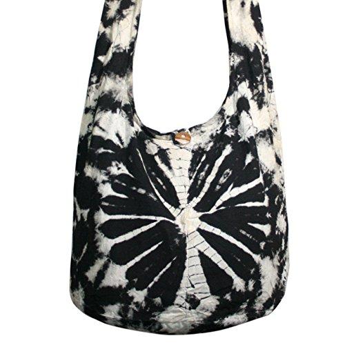 Tie Crossbody Shoulder Dye Orage Bags Purse Bags Tonka Hippie Hobo TDB9 Bags 1dZq7EW