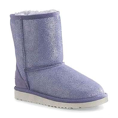 UGG Australia Kids Classic Glitter Boot Provence Size 13