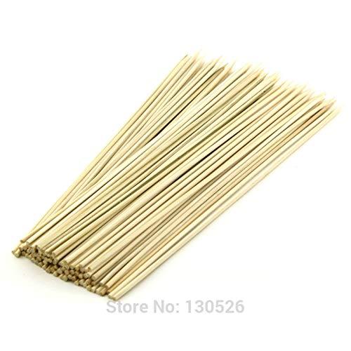 BACOHO | Skewers | 48Pcs Bamboo Skewers 40/45/50cm 5mm Bold Tornado Potato Skewer Bamboo BBQ Skewers Sticks Kabob Fruit Vegetable Barbecue Sticks