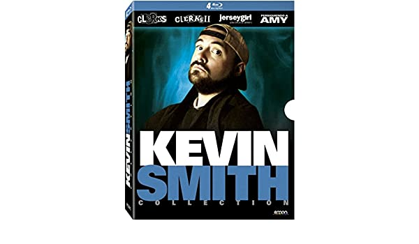 Amazon.com: Kevin Smith Collection - 4-Disc Box Set (Clerks / Clerks II (Clerks 2) / Jersey Girl / Chasing Amy)  [ NON-USA FORMAT, Blu-Ray, Reg.