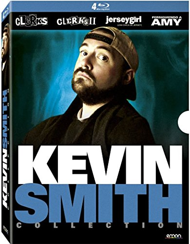 Kevin Smith Collection - 4-Disc Box Set ( Clerks / Clerks II (Clerks 2) / Jersey Girl / Chasing Amy ) [ NON-USA FORMAT, Blu-Ray, Reg.B Import - Spain ]