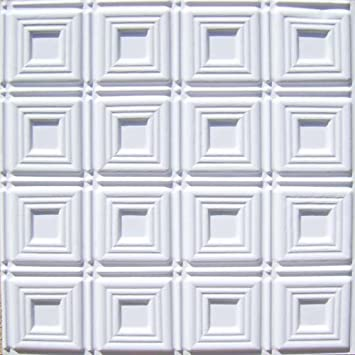 cheapest decorative plastic ceiling tile 153 white matt 2x2 fire rated can be glue on - Cheapest Ceiling Material