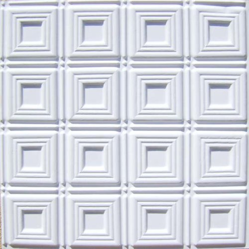 Cheapest Decorative Plastic Ceiling Tile #153 White Matt ...