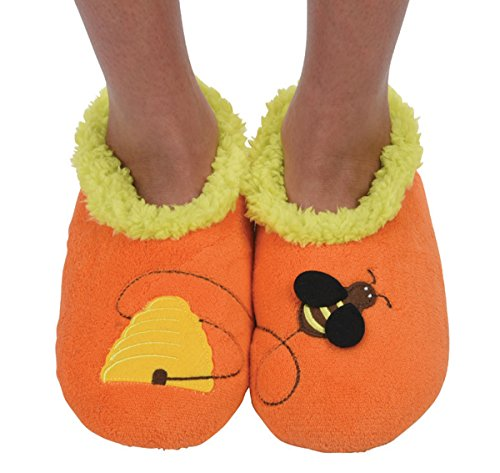 Bee Slipper Socks