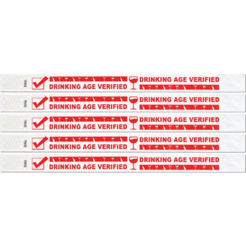 Beistle 60008 100 Pack Drinking Wristbands