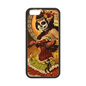 iPhone 6 Hard Case,Day of the Dead Snap-on Protective Hardshell Cover Case for iPhone 6 (4.7 inch)