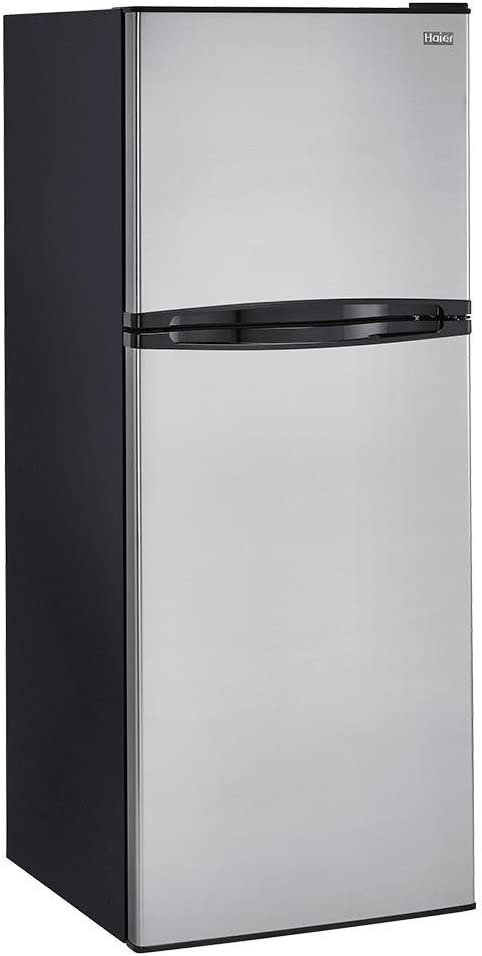 Haier HA10TG21SS 10 cu. ft. Top Mount Refrigerator, Stainless Steel