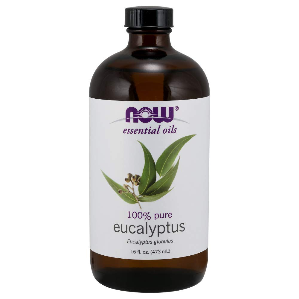 Now Solutions Eucalyptus Essential Oil, 16-Ounce
