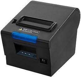 [Actualización 2.0] 80 mm Impresora de Tickets térmica,MUNBYN Impresora de Recibos Térmica