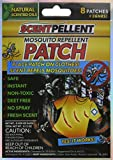 36 Hour Mosquito Repellent Patch - Non Toxic, Deet Free, No Spray. Great for Camping, Boating, Fishing, Summer Sports. Place Patch on Clothing, Shoes, or Hats. (24-Patches)