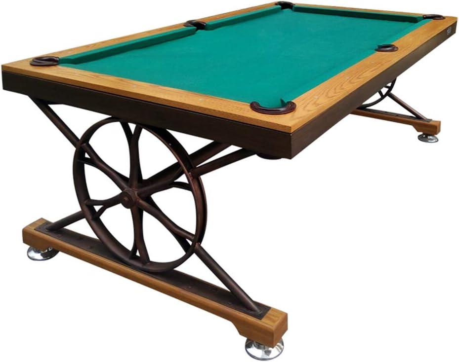 WXXW Mesa de Billar Pool Table Fútbol Madera 213x122x81cm para ...
