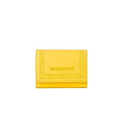Valentino - Monedero amarillo amarillo L 14,5cm H 10,5cm W 3 ...