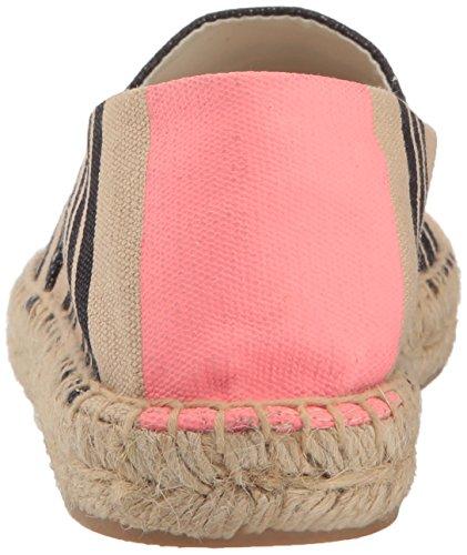 Sam Edelman Womens Verona Loafer Flat Navy / Pink Tri Stripe Print