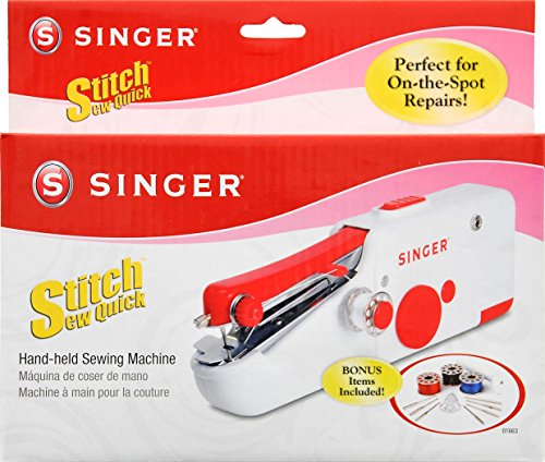 Nut Shop Quick Handy Held Sewing Machine Cordless Repair Singer Portable Stitch Sew Hand