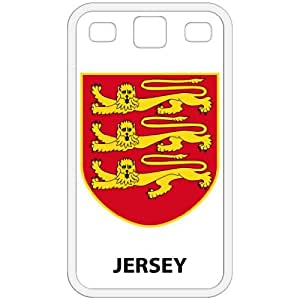Jersey - Country Coat Of Arms Flag Emblem White Galaxy S3 i9300 Cell Phone Case - Cover