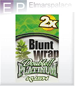 1 caja Platinum doble Blunt wrap envoltorios 1 cajas 25 x 2