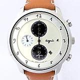 アニエスベー agnesb マルチェロ クロノグラフ ソーラー FBRD973 [国内正規品] メンズ 腕時計 時計
