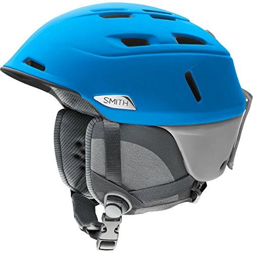 Smith Optics Camber Adult Ski Snowmobile Helmet - Matte Imperial Blue/Cloudgrey/Large