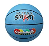 School Smart Gradeballs Rubber Basketball - Mini 11 inch - Blue