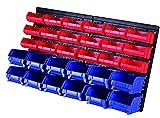 MaxWorks 80694 30-Bin Wall Mount Parts Rack/Storage