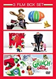 3 Film Box Set: Hop / Despicable Me / The Grinch [DVD]