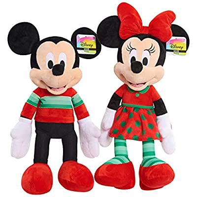 Disney 15177 Minnie Mouse Holiday 2020 Plush, Multicolor: Toys & Games