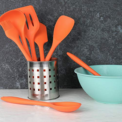 "Chef Craft Premium Silicone Ladle, 11.25"", Orange"