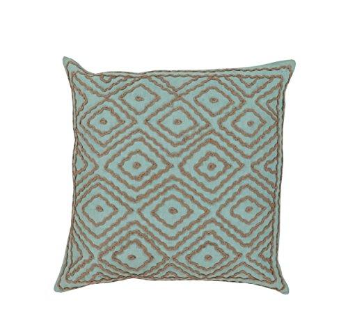 Amazon.com: C&U 1 Piece 18x18 Aqua Blue Southwest Theme ...