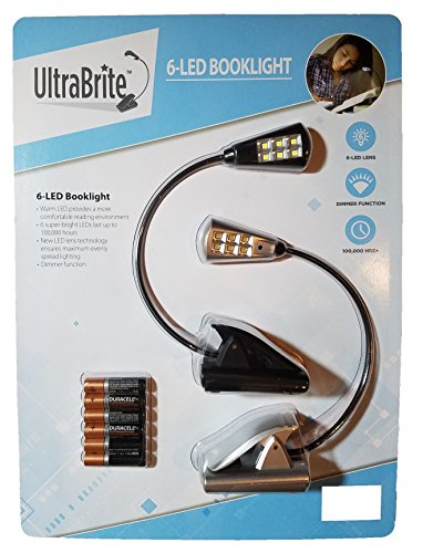 UltraBrite Portable Flexible Dimmable Booklight product image