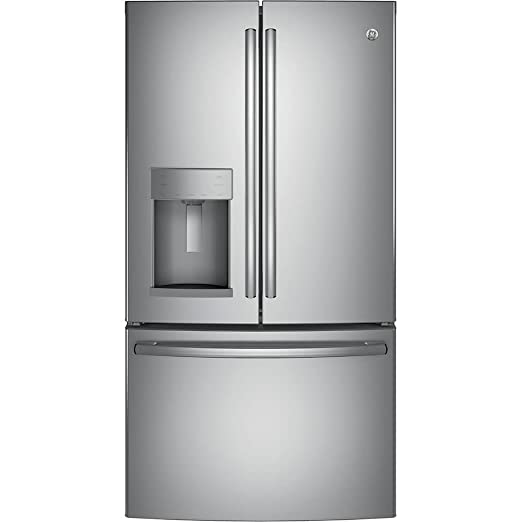 Amazon.com: GE gye22hskss 22,2 CU. FT. Acero inoxidable ...