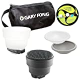 Gary Fong Portrait Lighting Flash Modifying Kit (Black/White/Gray/Amber)