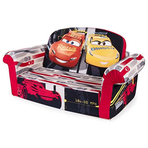 Marshmallow-Furniture-Childrens-Upholstered-2-in-1-Flip-Open-Sofa-Disney-Pixar-Cars-3-by-Spin-Master