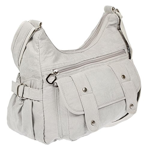 Shoulder cm Women's Black 32 13 Light Black 26 Christian Bag Grey x x Wippermann EqxnAB5PwH