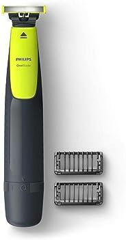 Aparador de Pêlos, Philips, OneBlade QP2510/10, Cinza/Verde