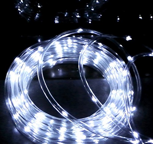 18 Cool White Led Indoor/Outdoor Christmas Rope Lights - 3