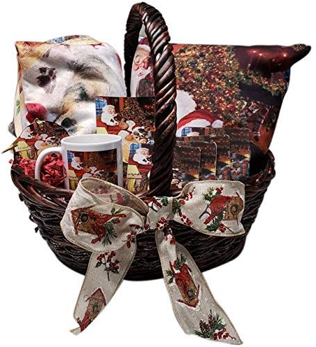 The Ultimate Dog Lover Basket Borzois Dog Blanket, Pillow, Coasters, Magnet Coffee Mug and Ornament SSGB48044