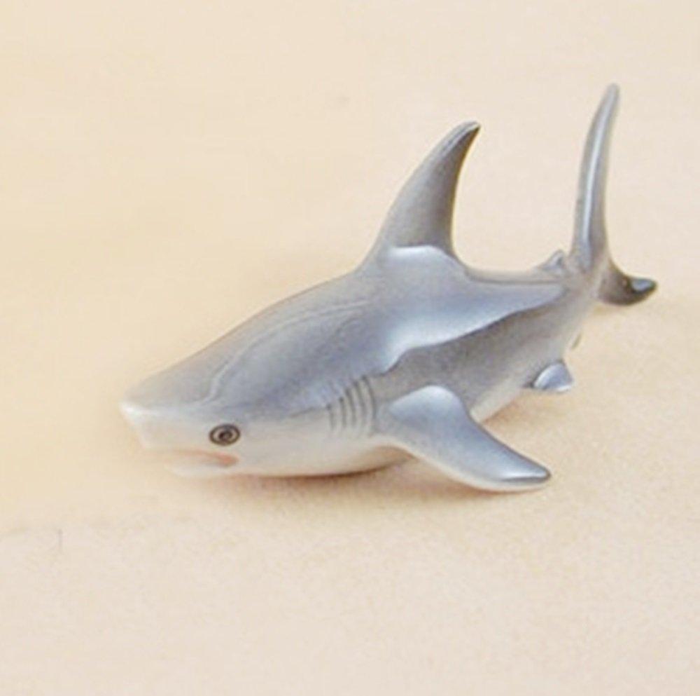 Dollhouse Miniatures Ceramic Shark 1 FIGURINE Animals Decor