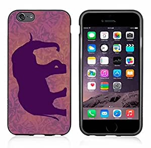 Elephant Sihlouette Purple Case / Cover For Apple Iphone 6 or 6S by Atomic Market